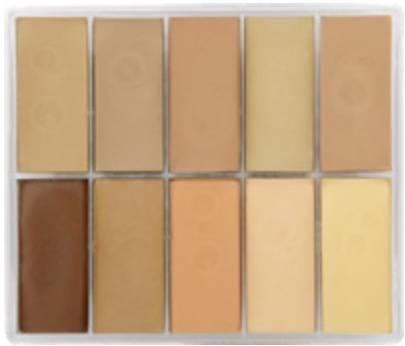 maqpro Fard Creme Palette - 10 correcteur créme color - PP EUROPE