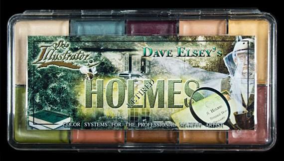 """Skin Illustrator Palette """"Holmes"""""""