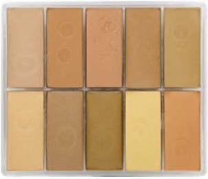 maqpro Fard Creme Palette - 10 correcteur créme color - PP19
