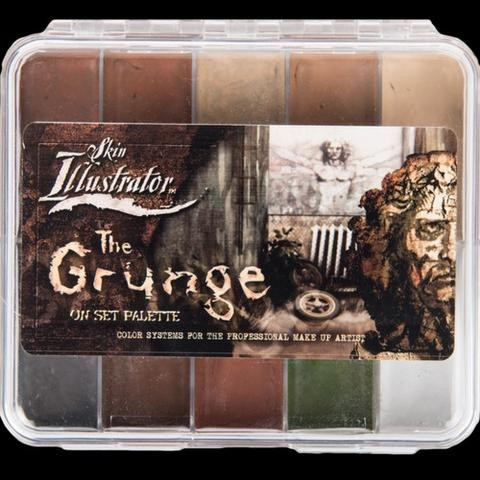 "Skin Illustrator ""The Grunge"" On Set Palette"