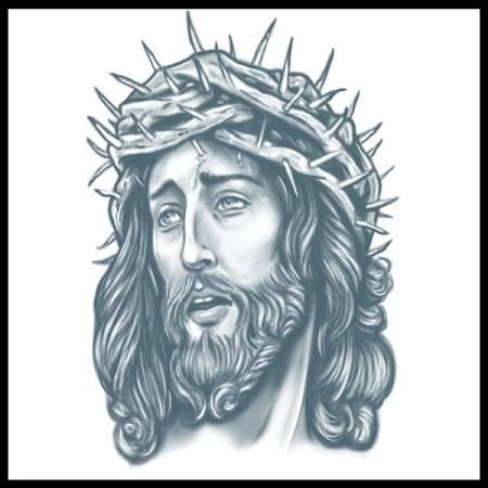 Tinsley Transfers Prison Tattoo - Jesus
