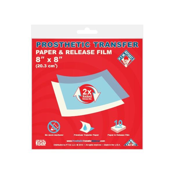 "P.T.M. Transfer Paper & Release Film - 8"" x 8"" (20,3 x 20,3 cm)"