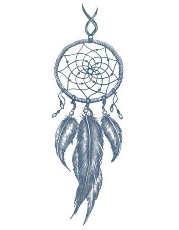 Tattooed Now! Temporary Tattoo - Dreamcatcher