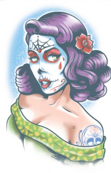 Tinsley Transfers Day Of The Dead - Lolita