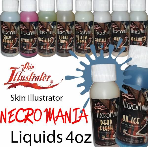 Skin Illustrator Necromania Liquids 4oz