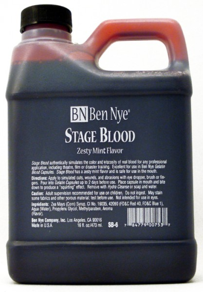 Ben Nye Stage Blood SB-6 - 16oz.