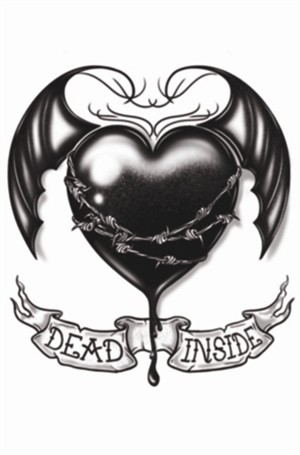 Tinsley Transfers Goth - Dead Inside