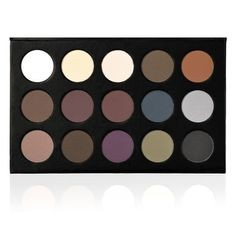 "BACKSTAGE MAKE-UP EyeShadow Profi-Palette ""EDEN"" (15er)"