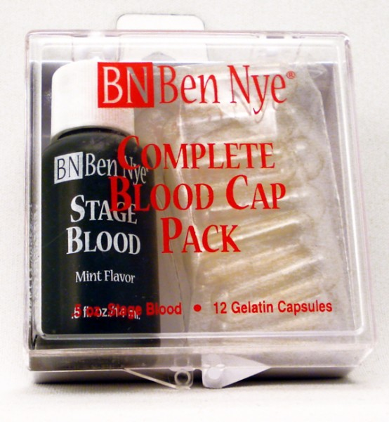 Ben Nye Complete Blood Cap Pack