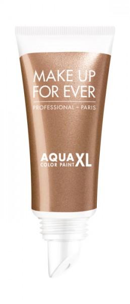 MAKE UP FOR EVER Aqua XL Color Paint - Iridescent Copper Gold I-42