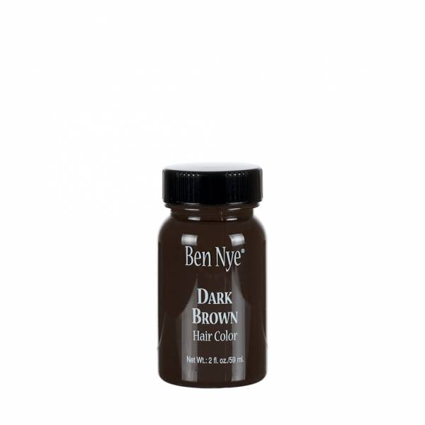Ben Nye Liquid Hair Color - BH-2 Dark Brown 2oz.