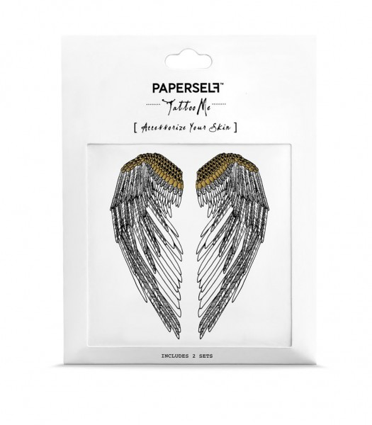 PAPERSELF Tattoo - Wings (SIMONEONE)