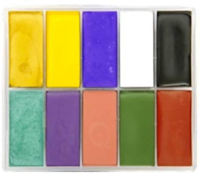 maqpro Fard Creme Palette - 10 correcteur créme color - AC02