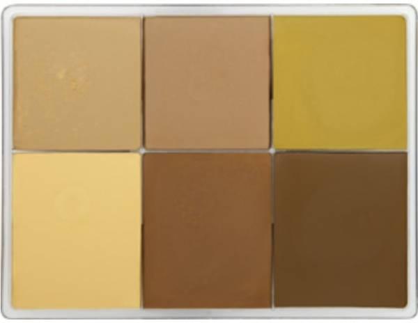 maqpro Fard Creme Palette - 6 Colors - MAP09