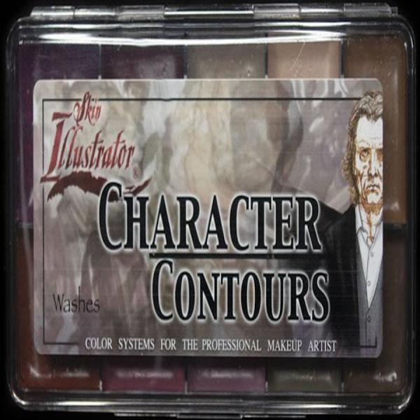 "Skin Illustrator On Set Palette ""Character Contours"""