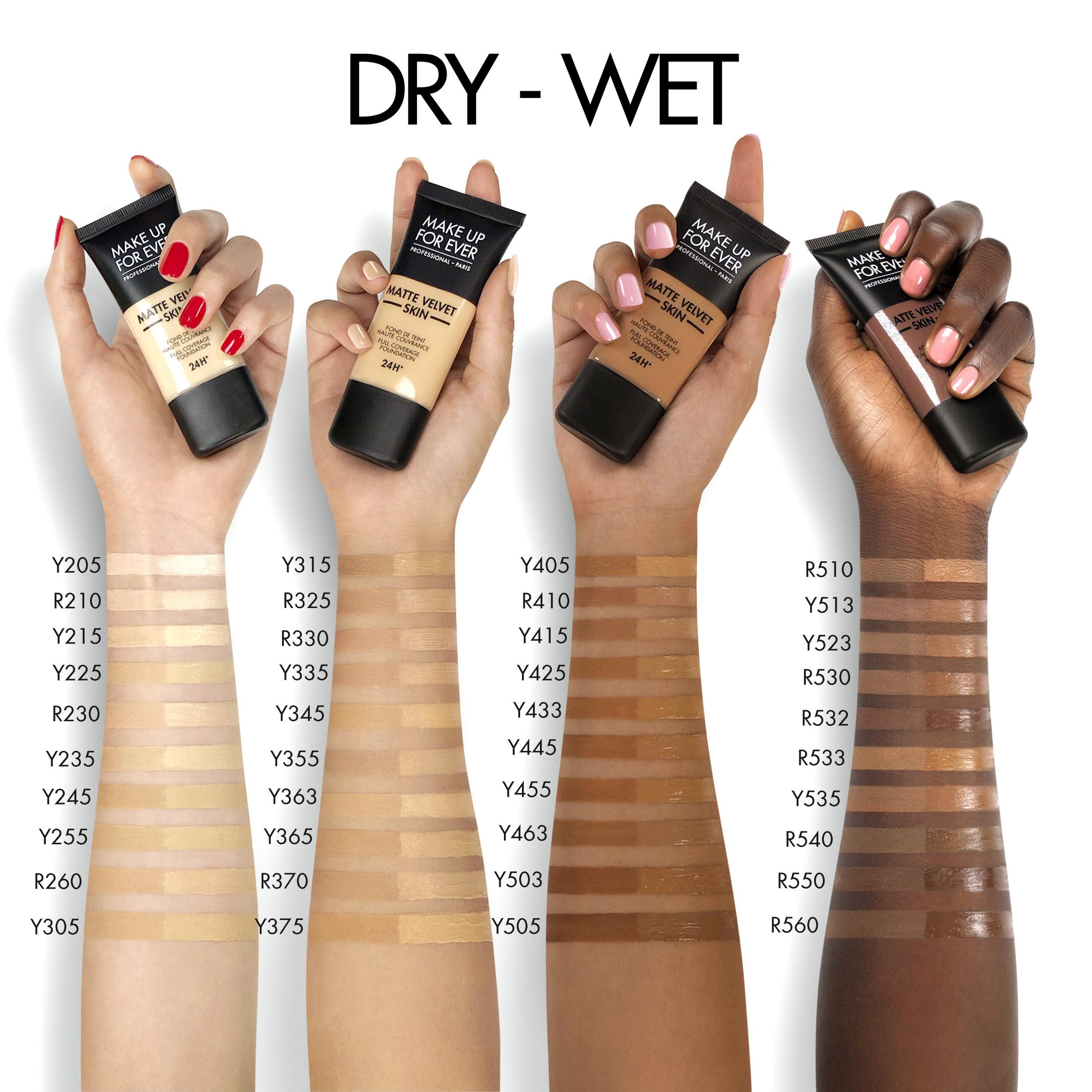 Matte Velvet Skin Fluid Foundation