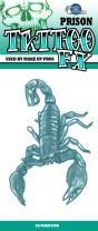 Tinsley Transfers Prison Tattoo - Scorpion