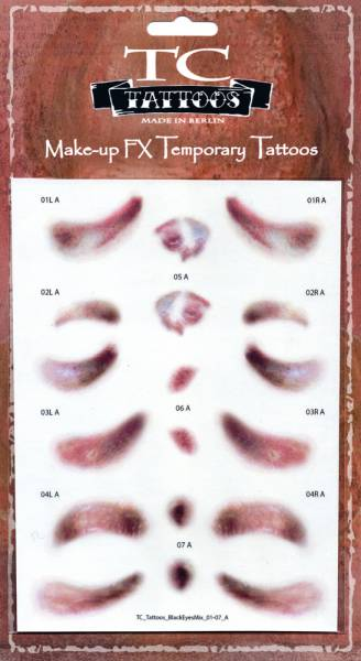 Twilight Creations TC Tattoos - Black Eye Mix - A