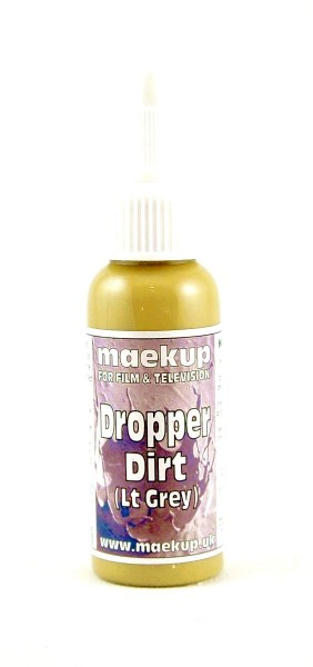maekup - Dropper Dirt - Light Grey - 30ml