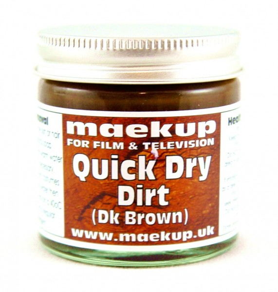 maekup - Quick Dry Dirt - Dark Brown - 60g