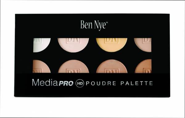 Ben Nye MediaPro HD Bella Poudre Palette HDCP-8