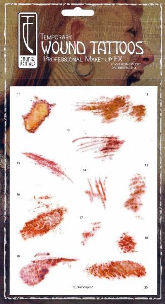 Twilight Creations TC Tattoos - Skin Scrapes Mix 2