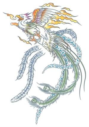 Tinsley Transfers Tattoo XL - The Phoenix
