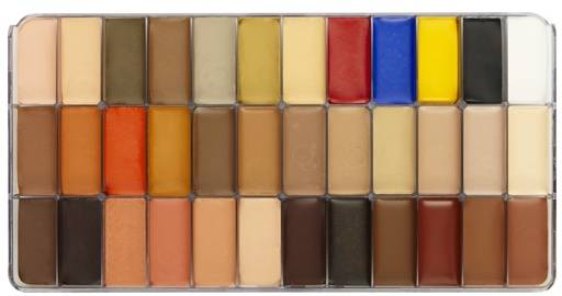 maqpro Fard Creme Palette - 36 colours make-up palette - NK14
