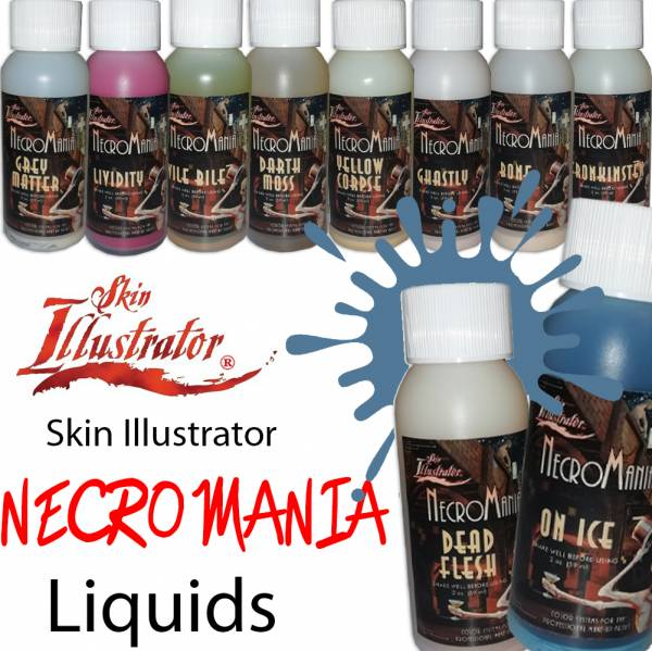 Skin Illustrator Necromania Liquids 2oz