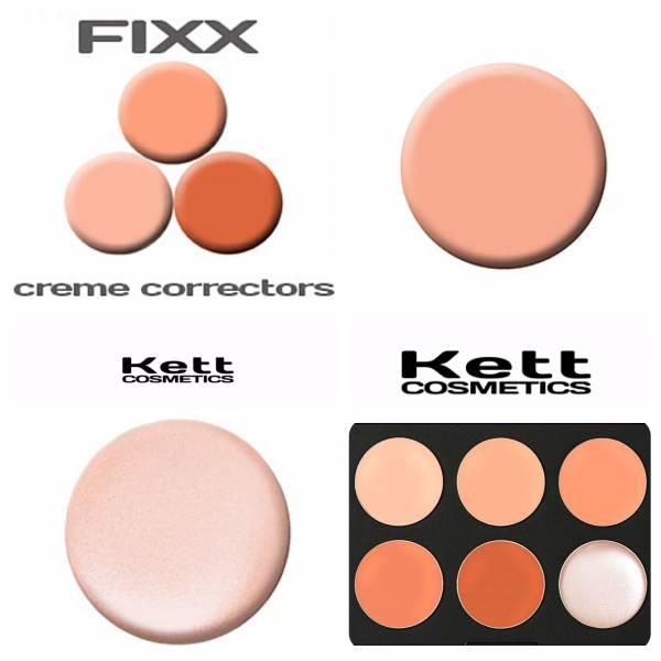 KETT COSMETICS - FIXX CREME CORRECTOR Refills