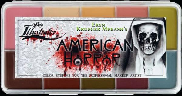 """Skin Illustrator Palette """"American Horror"""""""