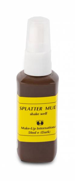 Make up International Splatter Mud Dark Brown Spray 50ml