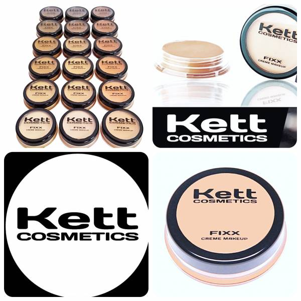 KETT COSMETICS - FIXX CREME FOUNDATION COMPACTS
