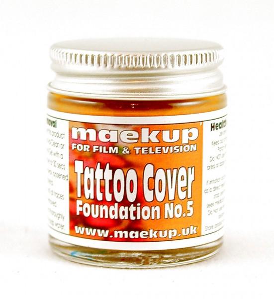 maekup - Tattoo Cover Foundation- No.5