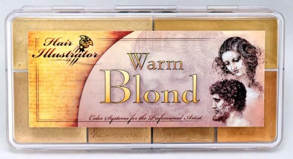 "Skin Illustrator Palette ""Warm Blond"""