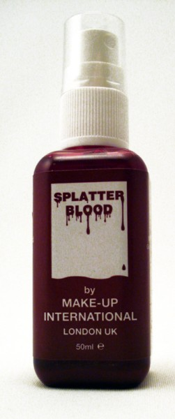 Make up International Splatter Blood Sprühflasche 50ml