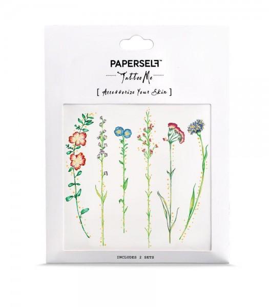 PAPERSELF Tattoo - Vintage Flowers