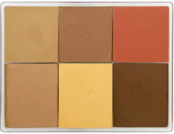 maqpro Fard Creme Palette - 6 Colors - E10