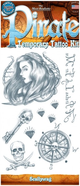 Tinsley Transfers Tattoo FX Kit - Pirate - Scallywag