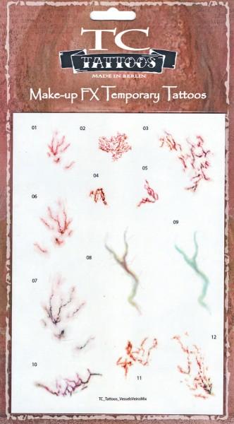 Twilight Creations TC Tattoos - Vessels Veins Mix