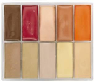maqpro Fard Creme Palette - 10 correcteur créme color - PP09