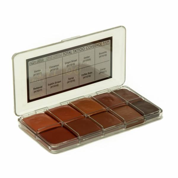 JORDANE - Tattoo Coverage Dark Tones (Cream) Big Palette