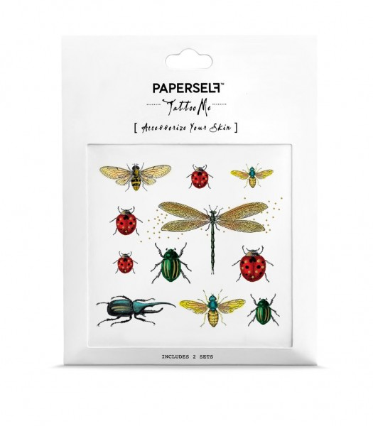 PAPERSELF Tattoo - Bugs
